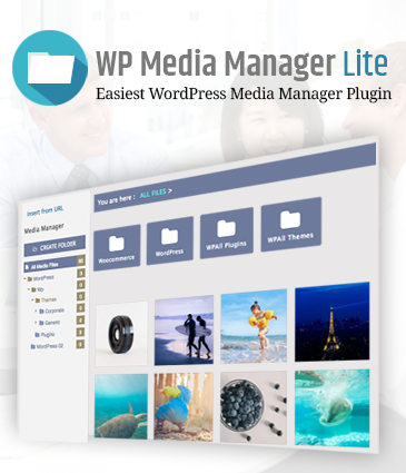 Easiest WordPress Media Manager Free Plugin - WP Media Manager Lite