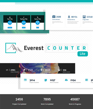 Beautiful Stat Counter Plugin for WordPress - Everest Counter Lite