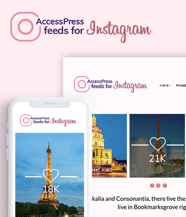 Free WordPress Instagram Plugin - AccessPress Feeds For Instagram
