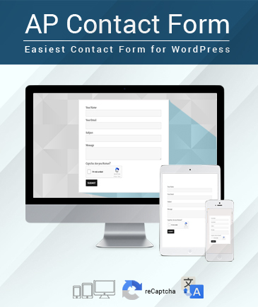 Easiest Contact Form for WordPress - AP Contact Form