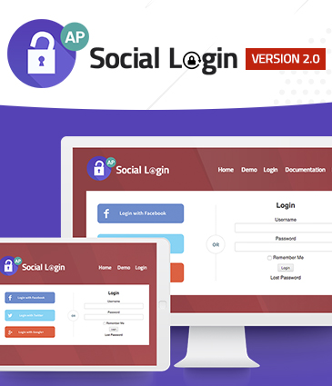 Premium WordPress Plugin for Social Login - AccessPress Social Login
