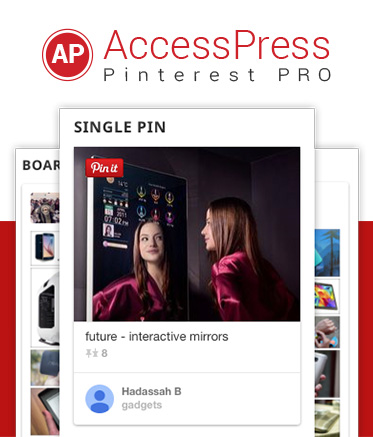 Pinterest Plugin for WordPress - AccessPress Pinterest Pro