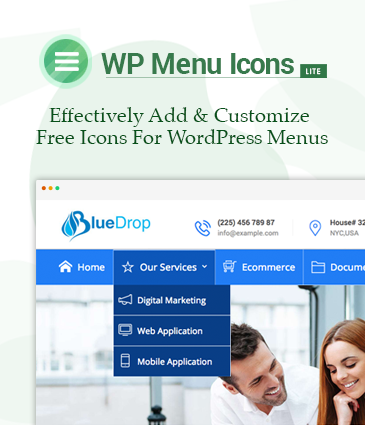 Effectively Add And Customize Free Icons For WordPress Menus - WP Menu Icons Lite