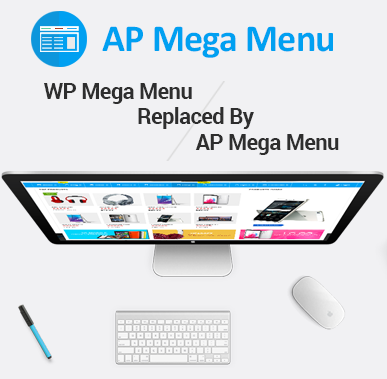 WP Mega Menu Plugin Replaced by AP Mega Menu