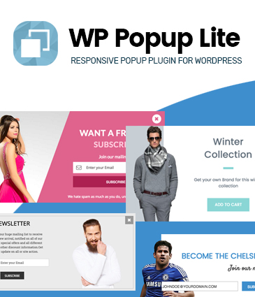 Responsive popup plugin for WordPress - WP Popup Lite