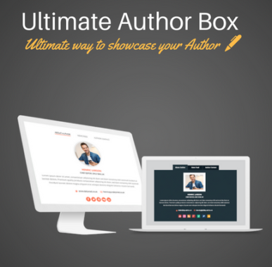 Ultimate Author Box  - Best WordPress Plugin For Author Box