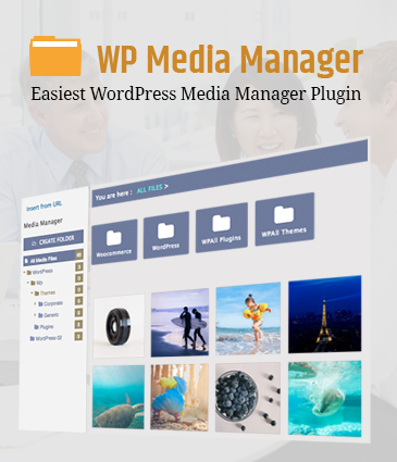 Easiest WordPress Media Manager Plugin - WP Media Manager
