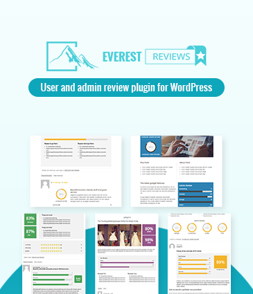User and admin review plugin for WordPress - Everest Review