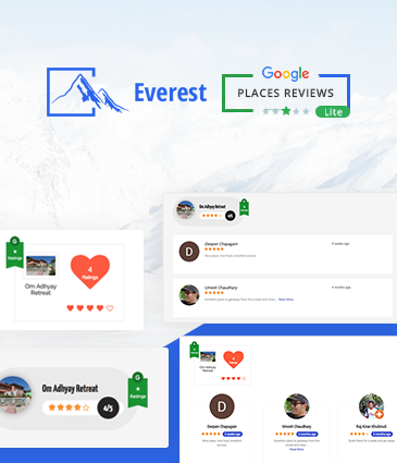 Best WordPress Free Plugin To Showcase Google Places / Business Reviews – Everest Google Places Reviews Lite