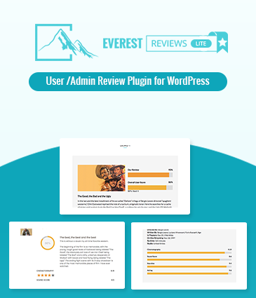 User/Admin review plugin for WordPress - Everest Review Lite