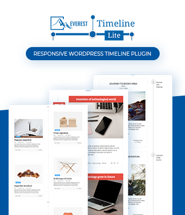 Responsive WordPress Timeline Plugin -  Everest Timeline Lite