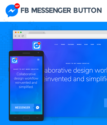 Premium FB Messenger Button Plugin for WordPress - WP FB Messenger Button