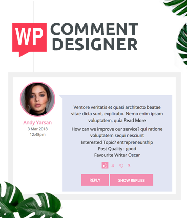 Design WordPress Comments And Comment Form - WP Comment Designer