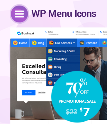 Effectively Add And Customize Icons For WordPress Menus - WP Menu Icons