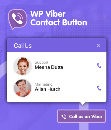 Premium Viber Contact Button Plugin for WordPress - WP Viber Contact Button