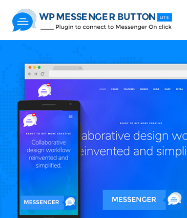 Messenger Button For WordPress – WP Messenger Button Lite