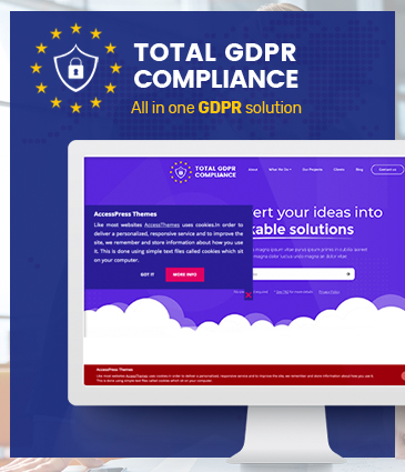 WordPress Plugin to make your site EU GDPR compatible (All in one GDPR Solution) - Total GDPR Compliance