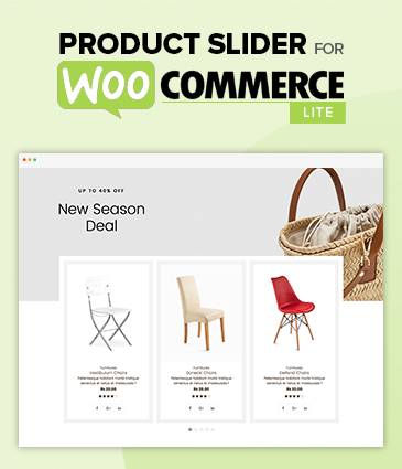 Product Slider For WooCommerce Lite -  Free Woo Extension to Showcase Products
