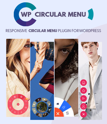 WP Circular Menu - Responsive Circular Menu Plugin for WordPress